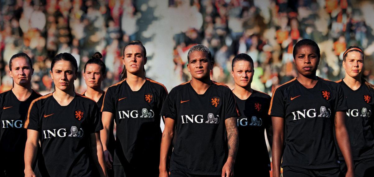 Opnieuw sponsorbedrag ING voor ondersteunen vrouwenvoetbal bij PVC!