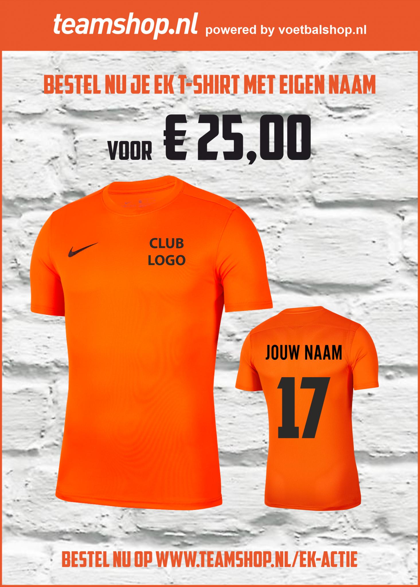 Samen winnen met Oranje....