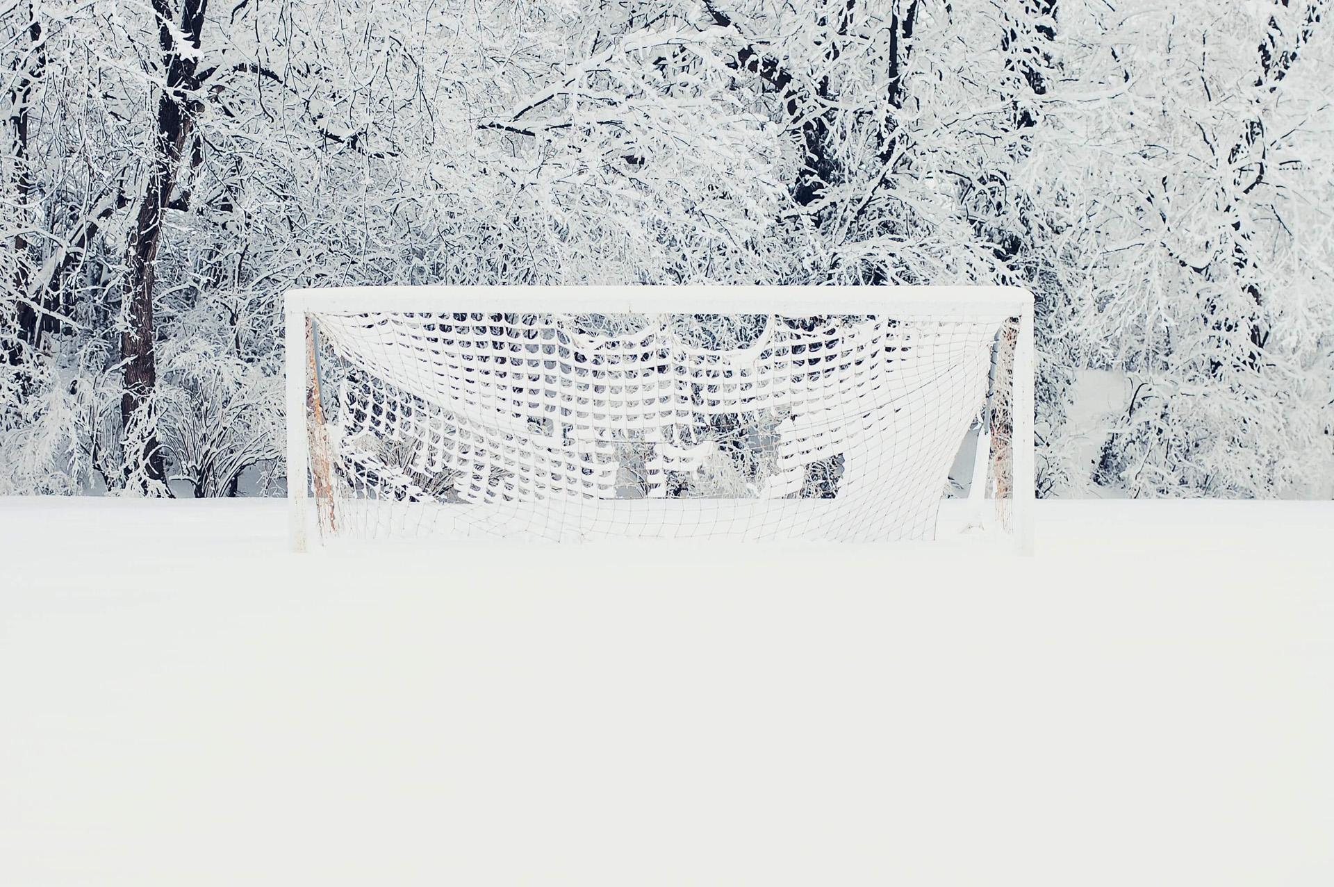 Met sneeuw de velden niet betreden!